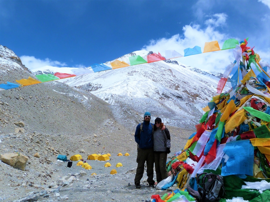 Popping in on Everest base camp