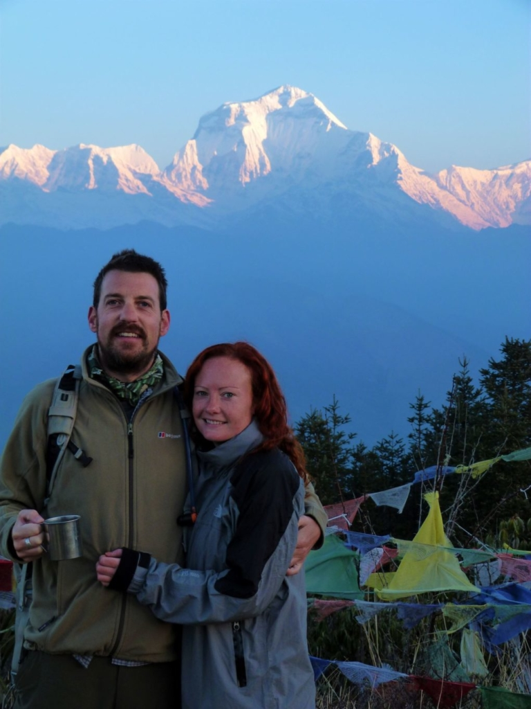Early morning start to get to the top of Poon Hill for sunrise