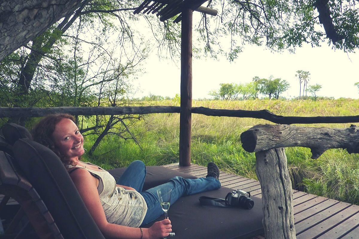 Using a Canon EOS 250D on safari