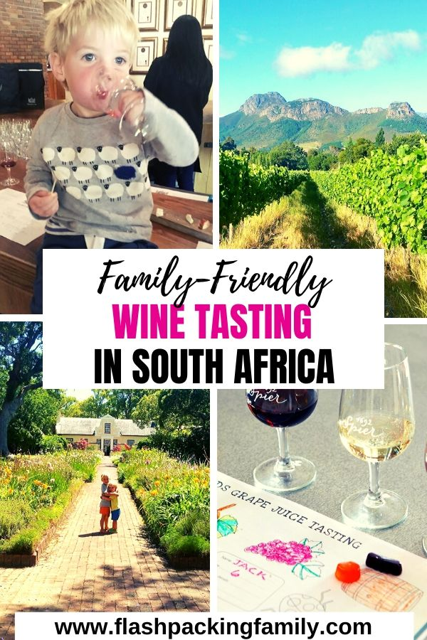 Family Friendly Wine Tasting in South Africa