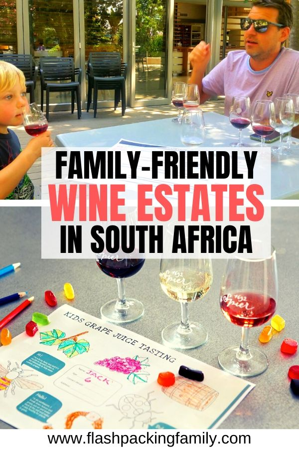 Family Friendly wine estates in south africa