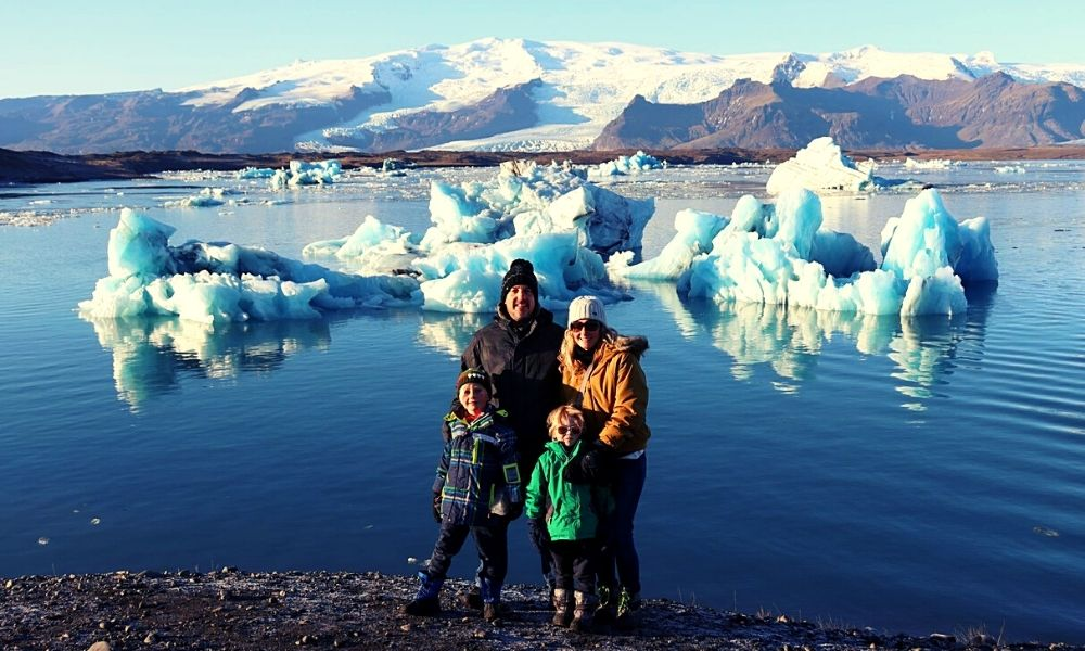 Family travel in Iceland