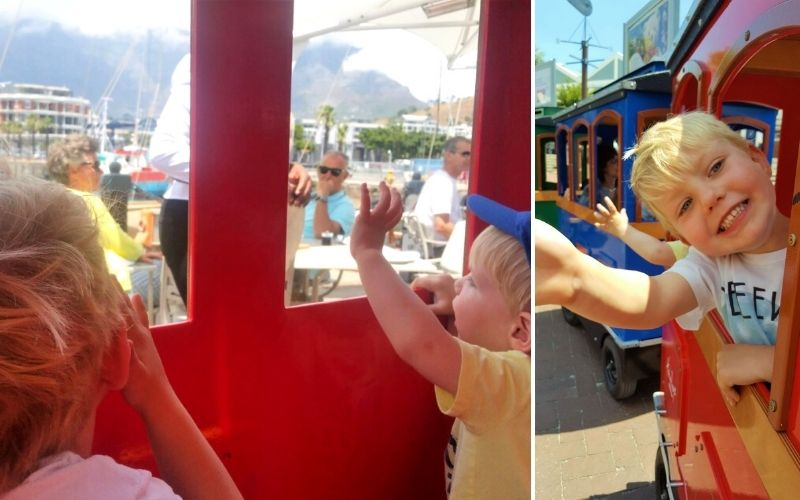 Hamleys Express Train in Cape Town