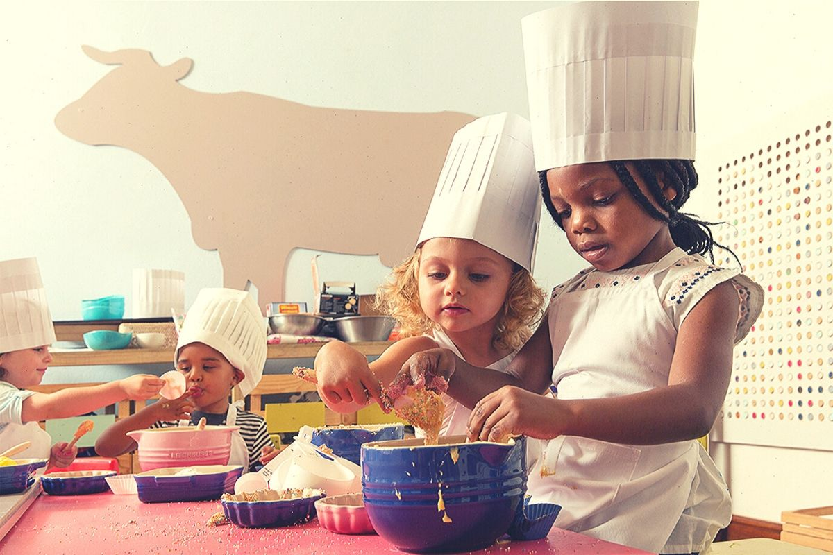 Kids cookery class at Spier Farm