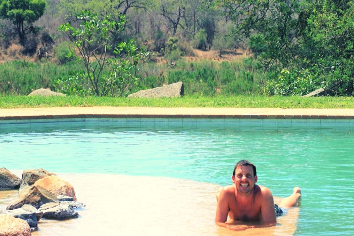 Lower Sabie Campsite pool area
