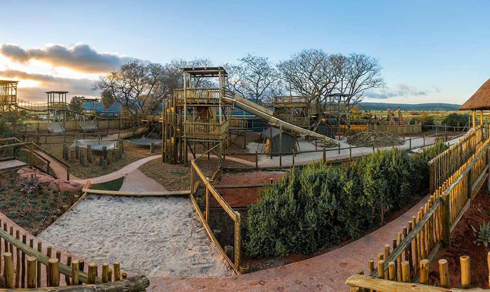 Shamwari's children's play area