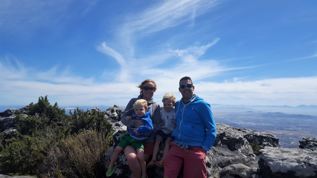 The top of Table Mountain is very exposed and you may need to use extra layers to keep warm!