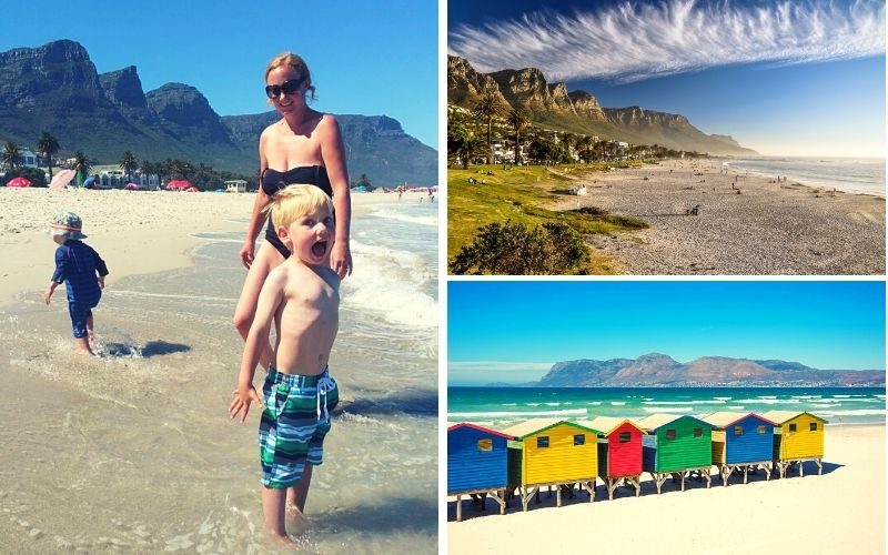 The Cape Town beaches