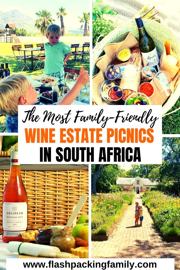 The Most family friendly wine estate picnics in south africa