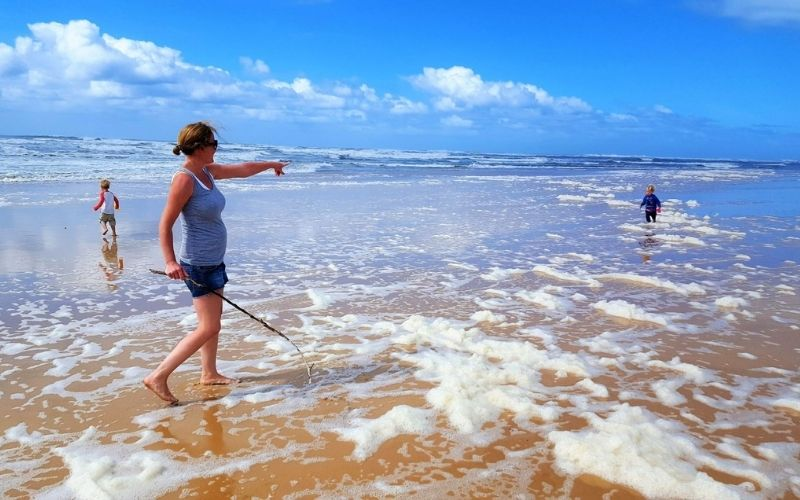 Wild and natural beaches of the Eastern Cape