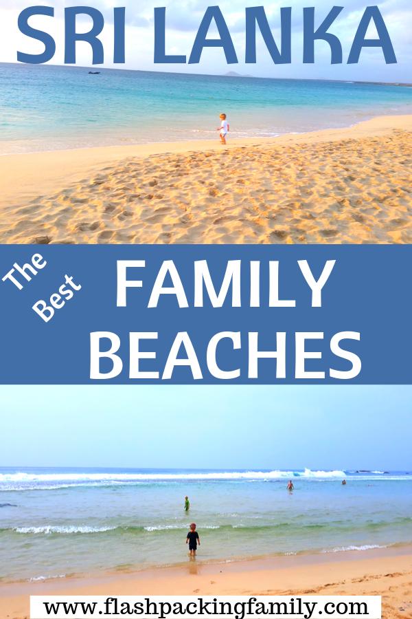 family friendly sri lankan beaches