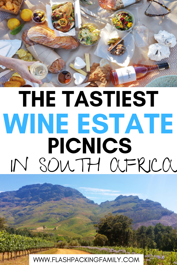South African wine estate picnics