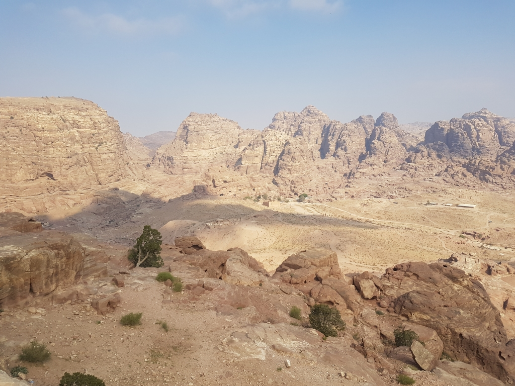 Hiking to the High Place of Sacrifice in Petra, Jordan