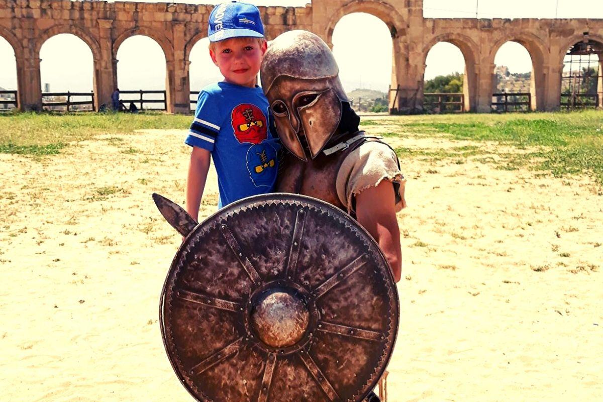 Gladiators at Jerash