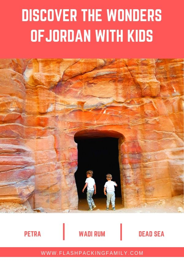 Epic 10 day itinerary of Jordan with kids