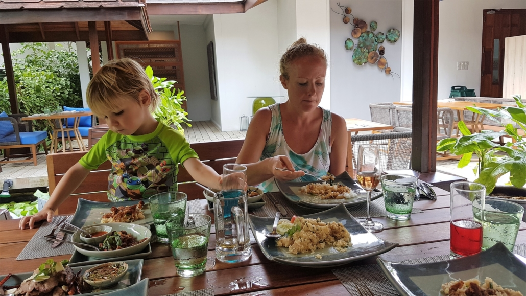 Centara Grand Island Resort and Spa Maldives review of the food