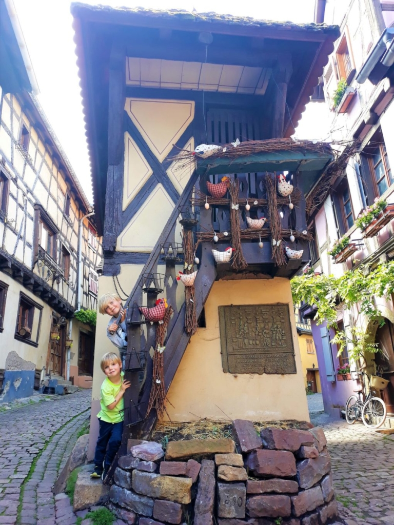 The most photographed spot in Eguisheim