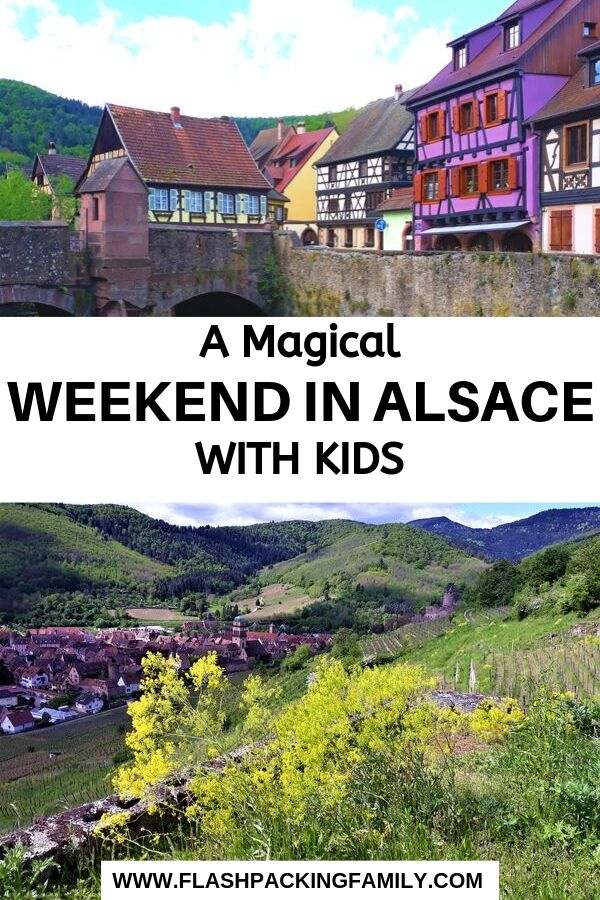 weekend in Alsace with kids