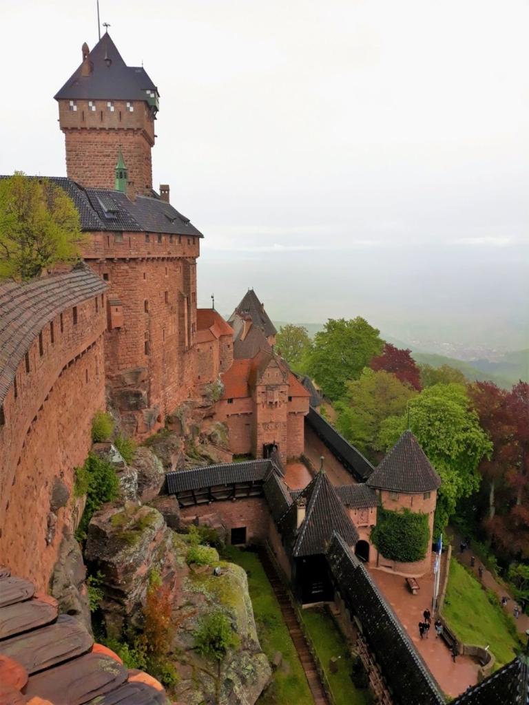 Chateau du Haut-Koenigsbourg with the potential for amazing views!