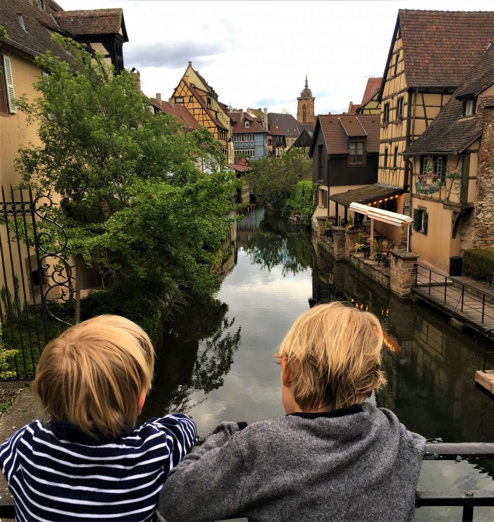 Alsace with kids Little Venice Colmar