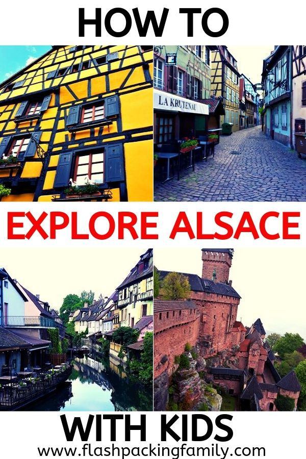 Explore Alsace with kids
