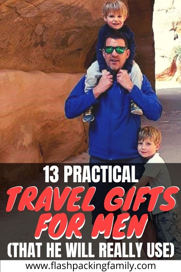 13 Practical Travel Gifts for Men (that he will really use)