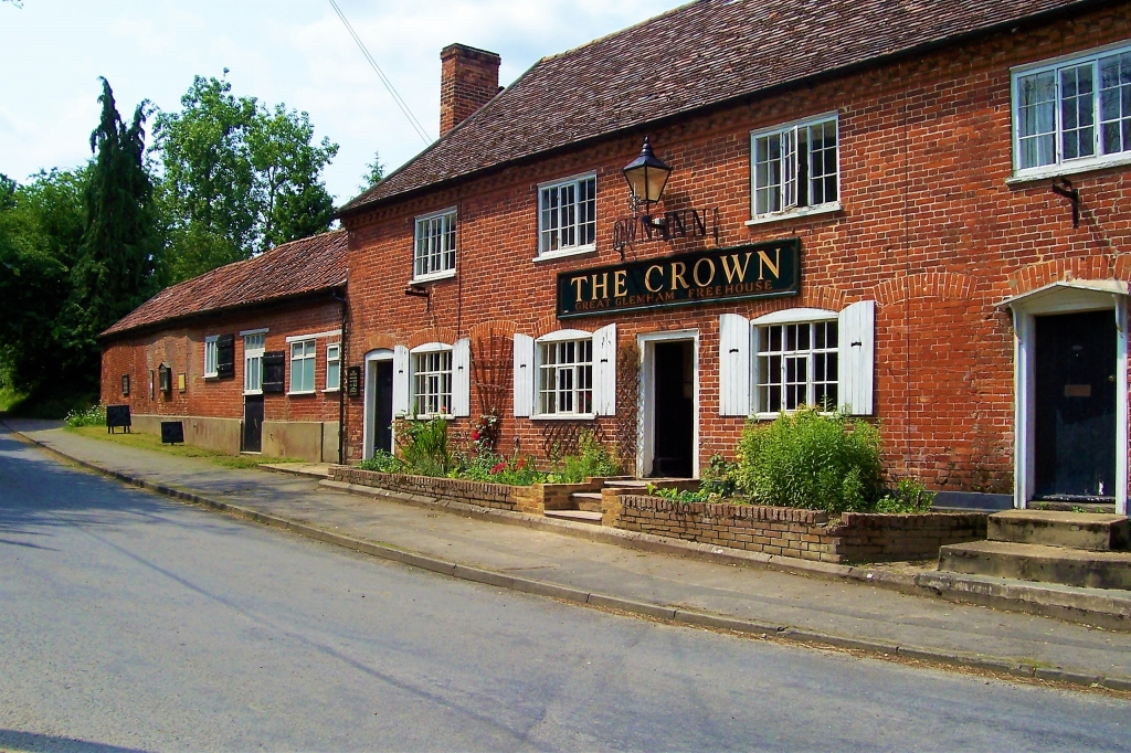 The Crown Inn in Great Glemham