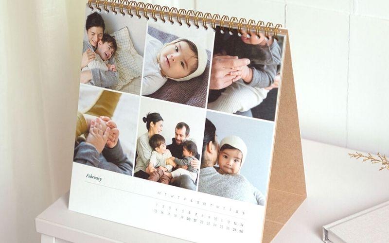 Rosemood essential photo calendar