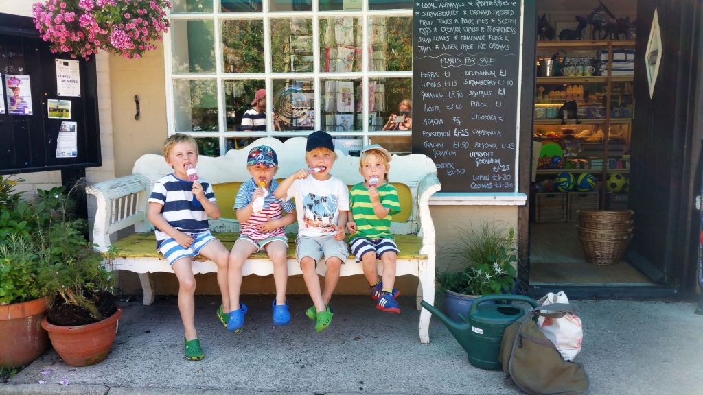 Childhood memories are made of long summer days and ice cream with friends