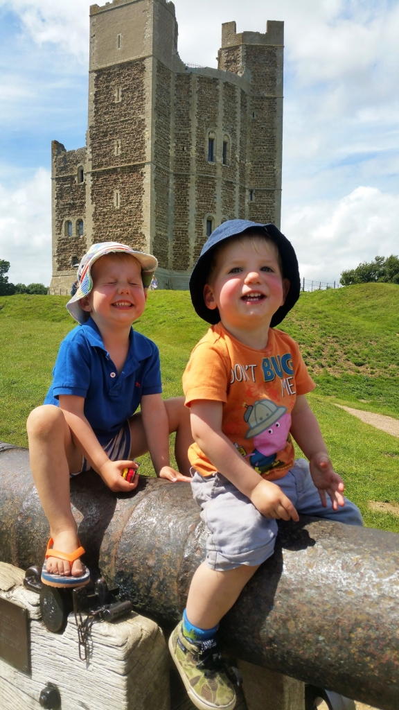 Canons at Orford Castle