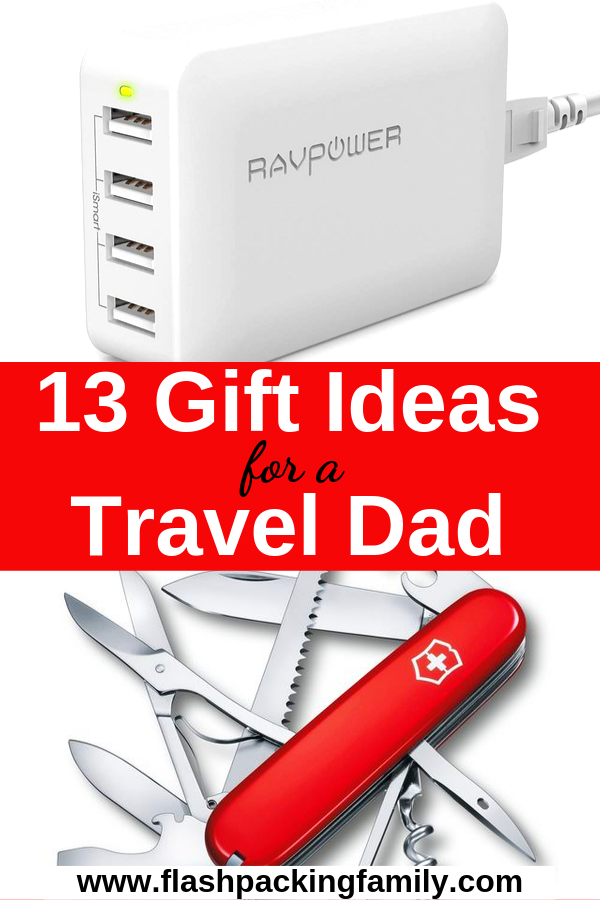 13 practical travel gifts for men