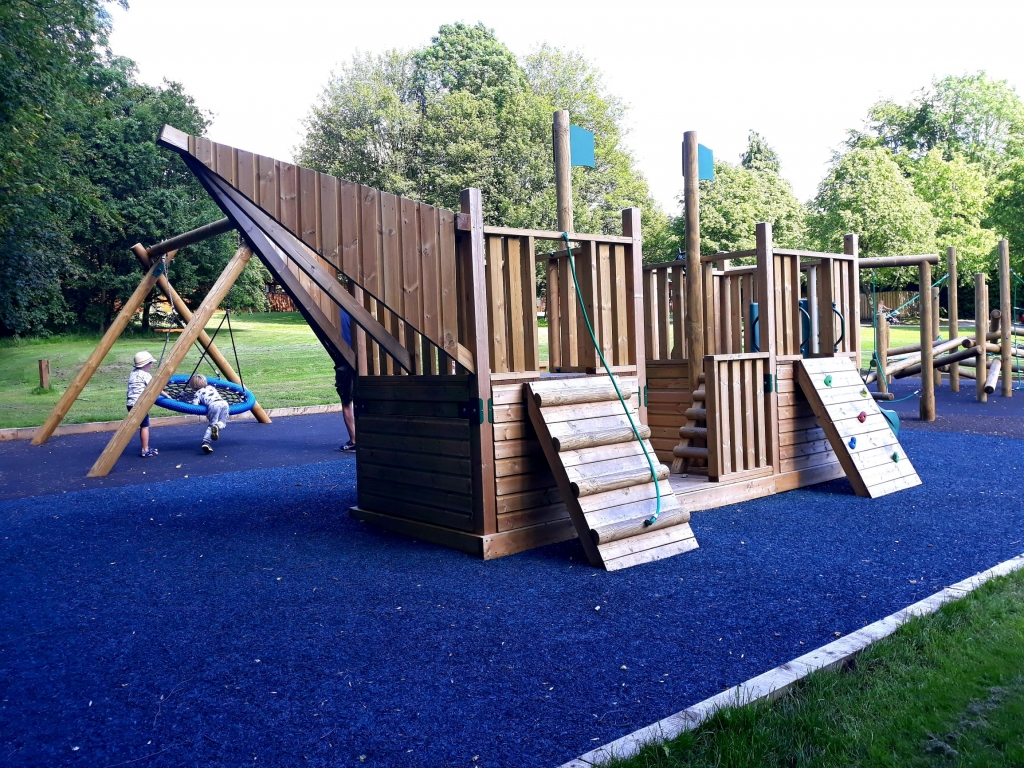 The playground at Sandybrook