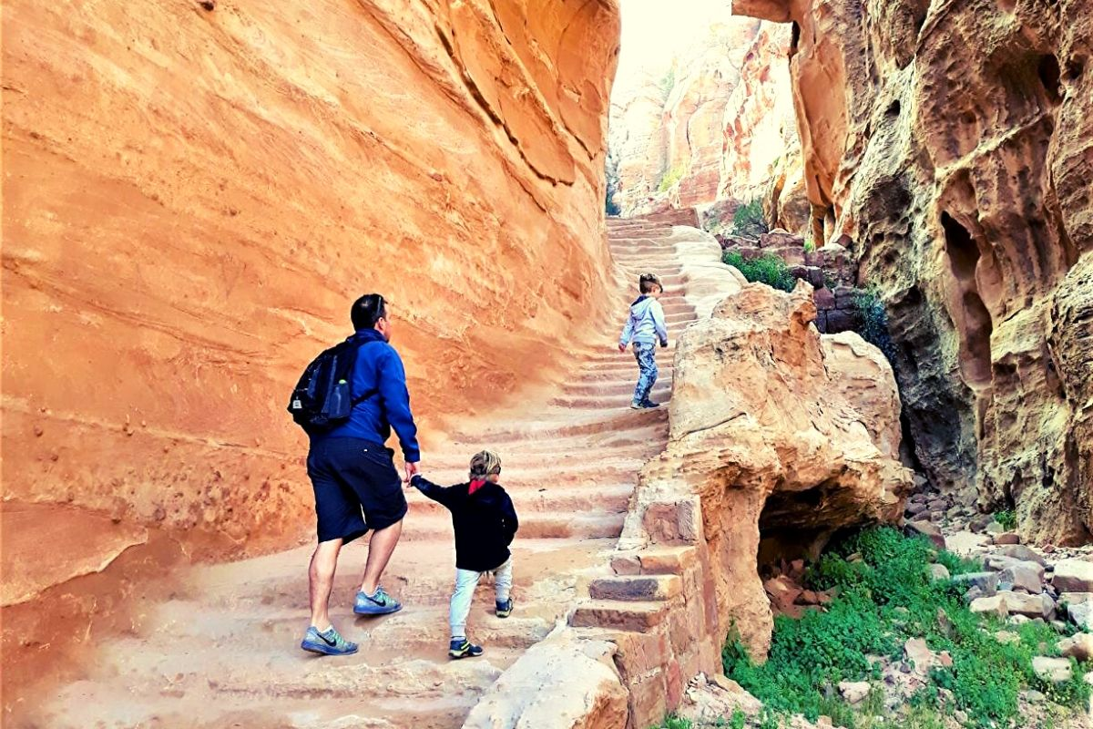Hike to the High Place of Sacrifice in Petra