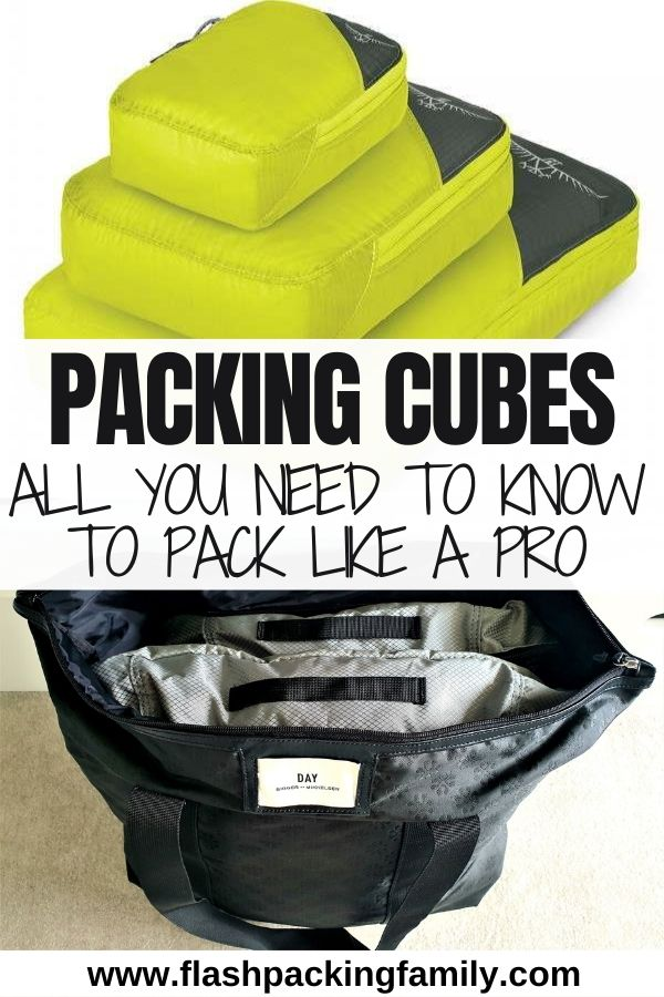 Packing Cubes - All you need to know to pack like a pro