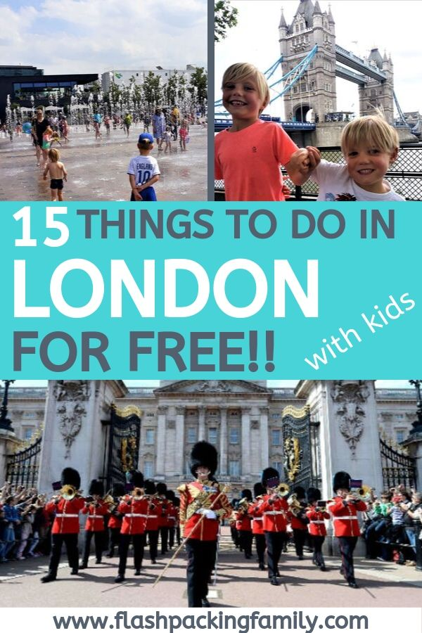 15 free things to do in London with kids
