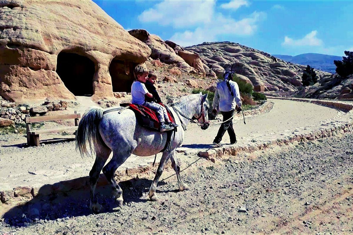 Pony Ride at Petra