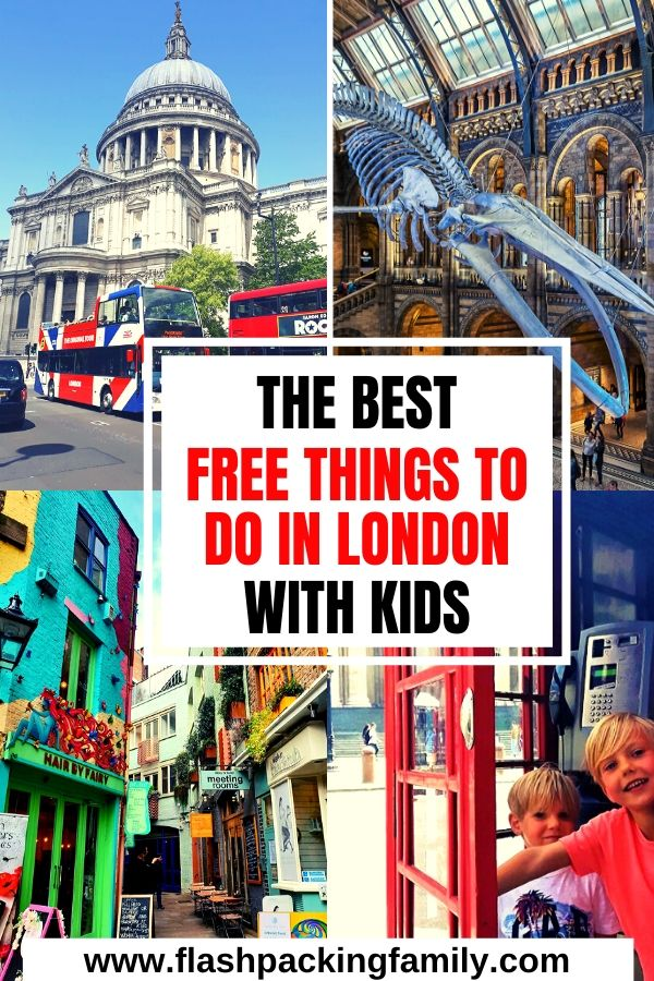 The Best Free Things to do in London with Kids