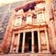 The Treasury in Petra