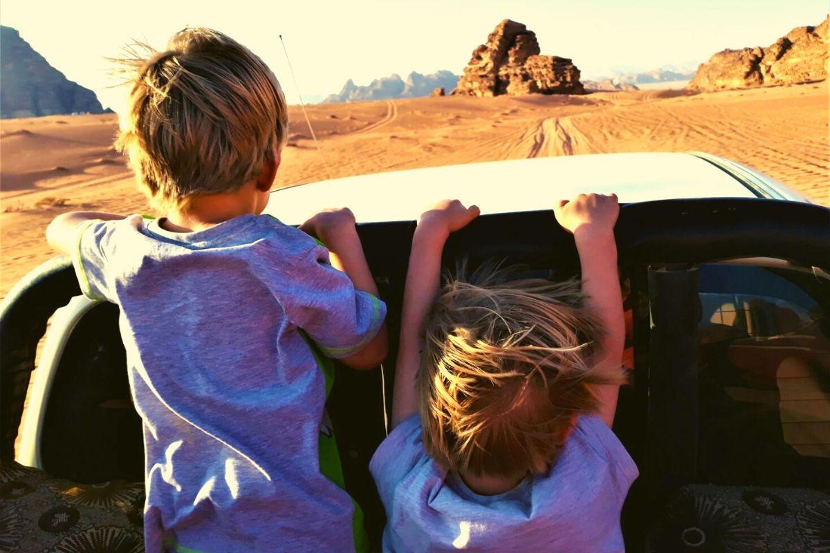 Wadi Rum 4x4 jeep tour