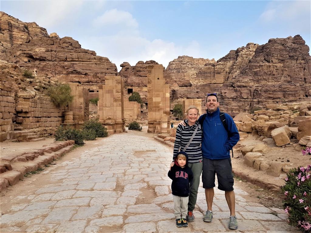 Temenos Gate in Petra