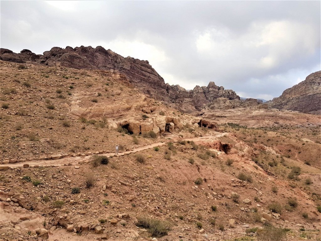Visiting Petra with kids alternative route via Wadi Farasa