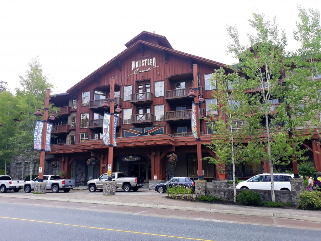 Legends Hotel in Whistler Creekside