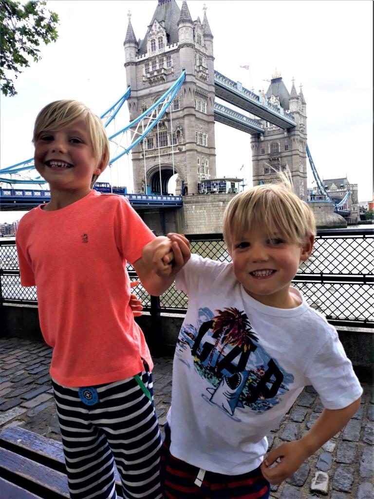 Visiting Tower Bridge London
