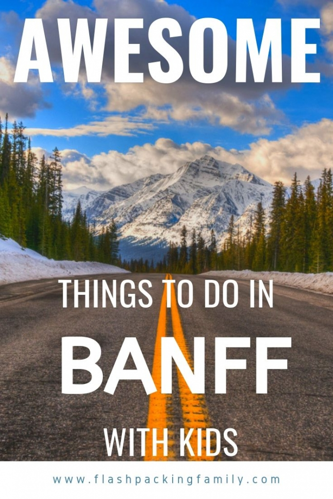 Awesome things to do in Banff with kids