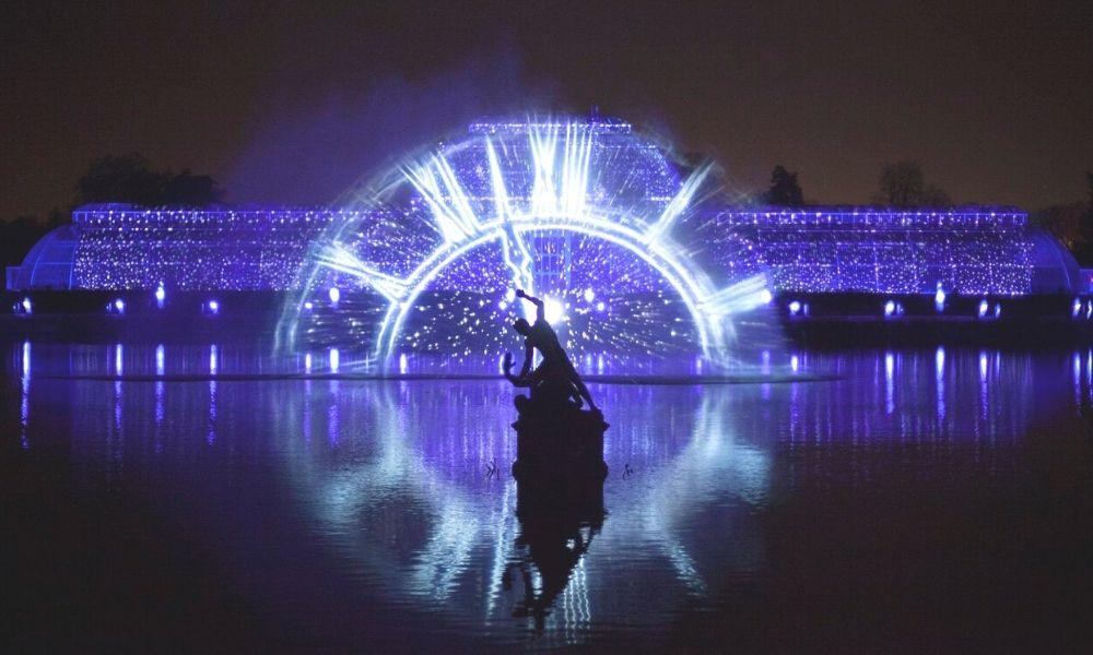 The Kew Gardens Light Trail