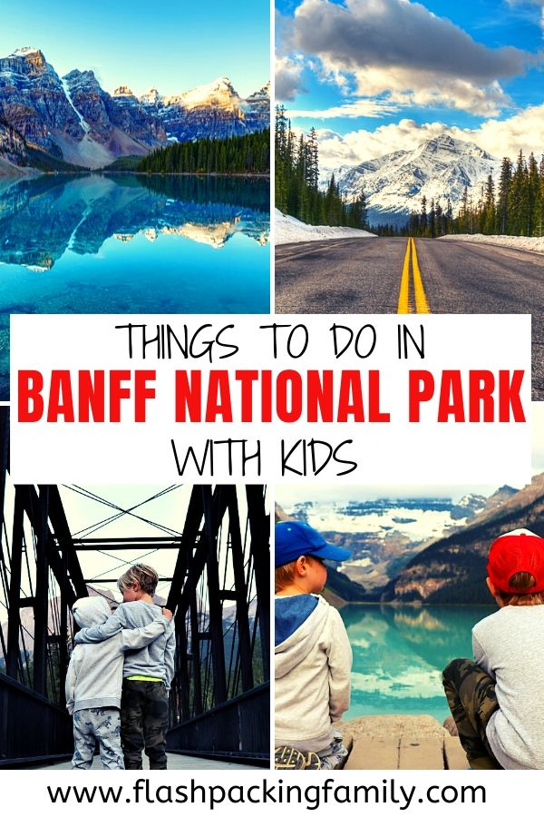Things to do in Banff national Park with kids