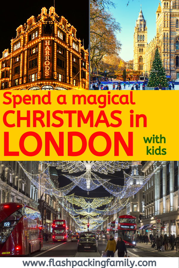 How to Spend a Magical Christmas in London with Kids