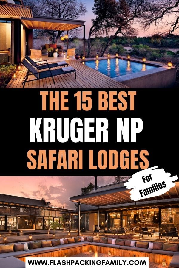 15 Best Kurger NP safari lodges for families