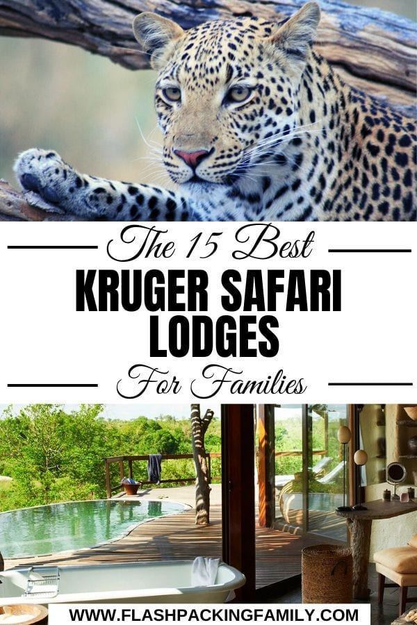 15 best Kruger safari lodges for families
