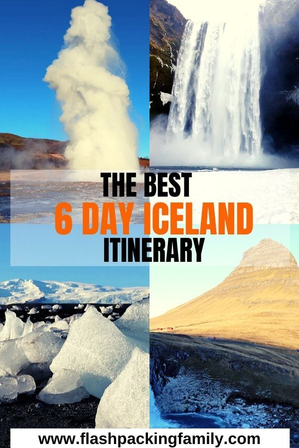 Iceland 6 day Itinerary